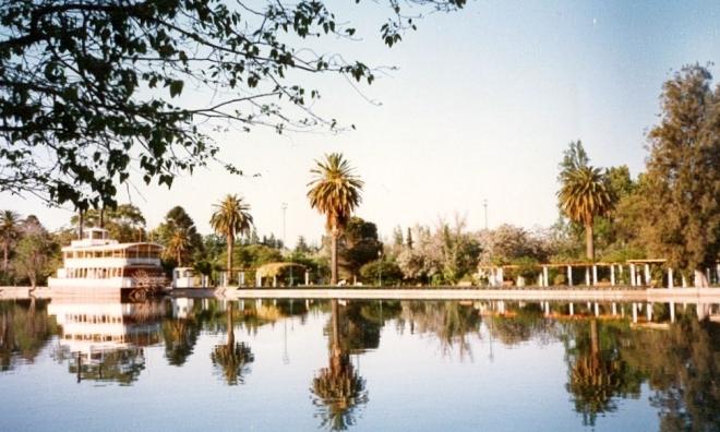 Plaza General San Martín, em Mendoza