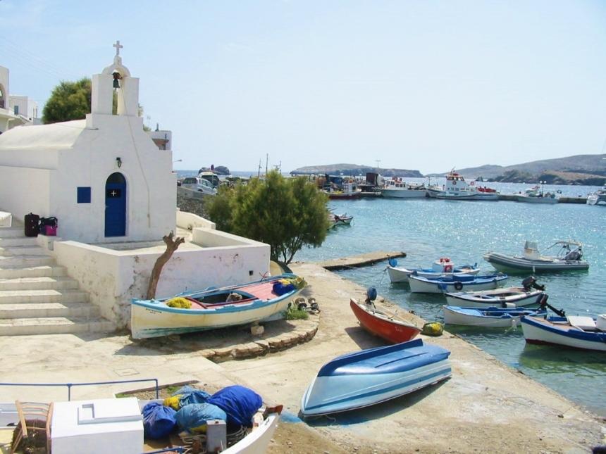 Folégandros Grecia Vilas Europeias