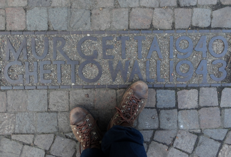 Muro do Gueto Varsovia Polonia gueto de Varsóvia