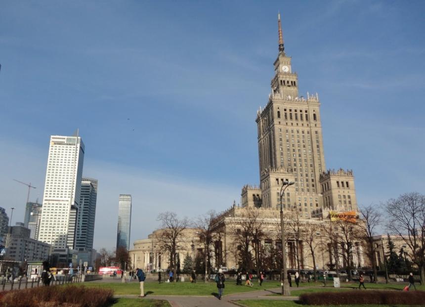Palacio da Cultura e Ciencia Varsóvia em 2 dias
